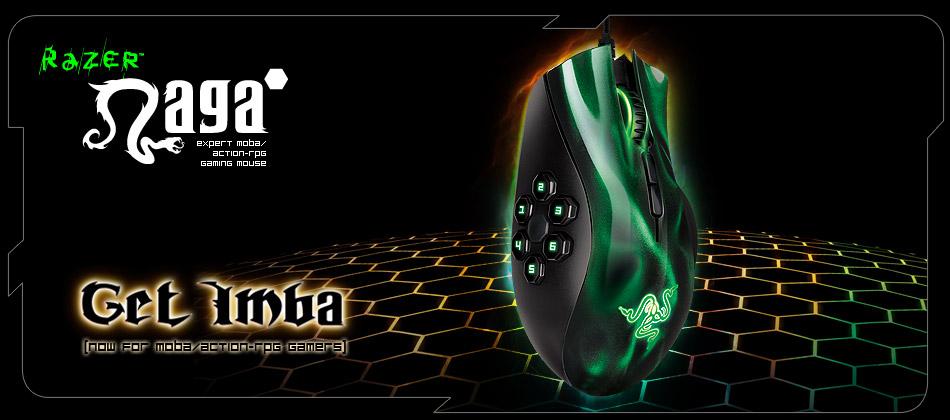 Razer Naga Expert Moba Gaming Mouse